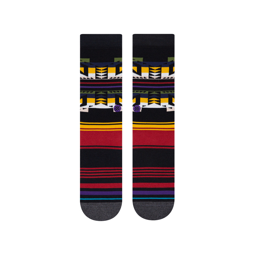 Stance Socks Collision Infiknit Classic Crew Sock | Black