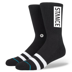 Stance OG Socks | Black - TVSC