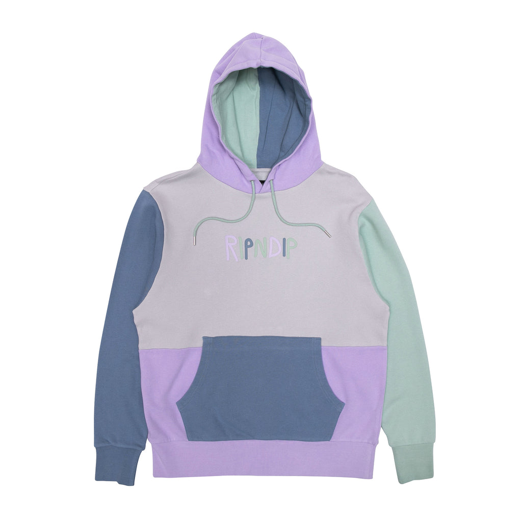 RipnDip Rip N Dip Multi Coloured Logo Hoodie | Multi - TVSC
