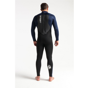 C-Skins C-Skins Legend Mens Back Zip GBS Steamer 3:2 Wetsuit 2020 | Black & Blue - TVSC