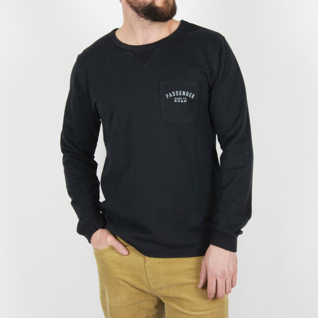 Passenger Passenger Clothing Peniche Long Sleeve Top | Charcoal - TVSC