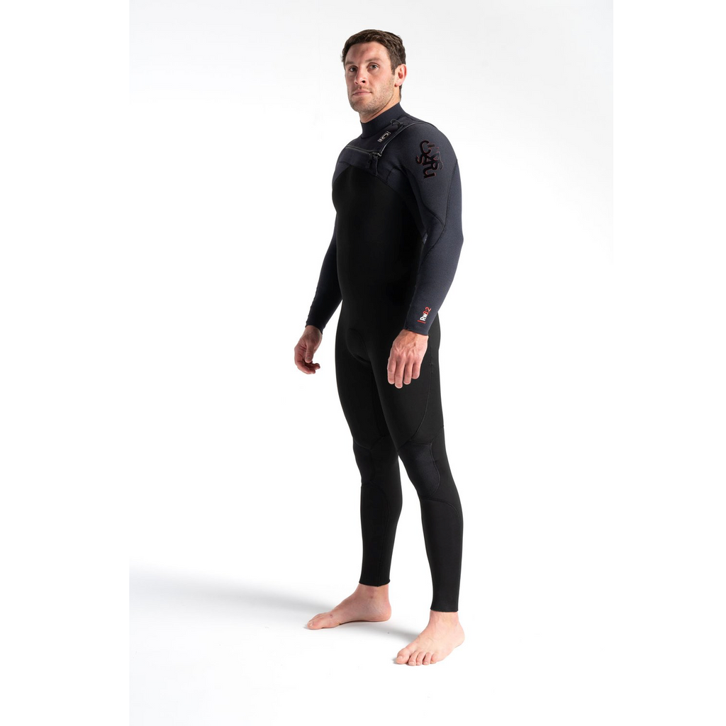 C-Skins C-Skins ReWired Mens Chest Zip GBS Steamer 3:2 Wetsuit 2020 | Black - TVSC