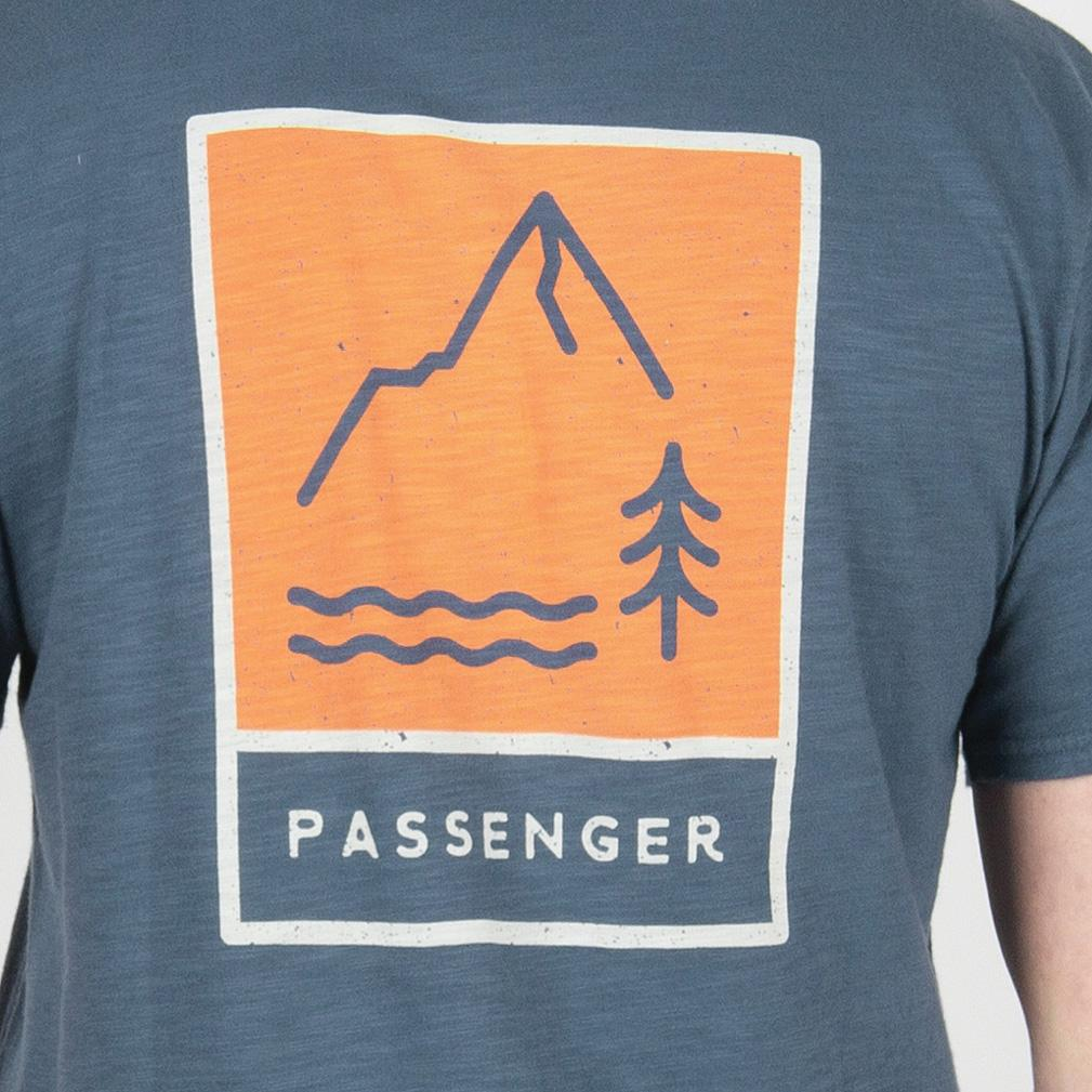 Passenger Clothing Dunnet T-Shirt | Dark Denim