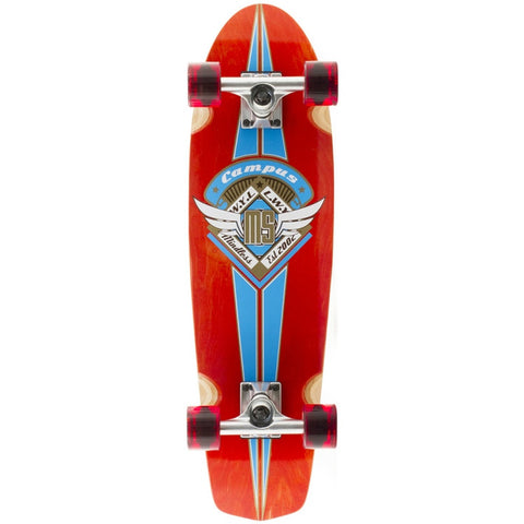 Mindless Longboards Campus III Red - TVSC