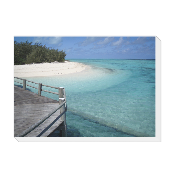 Mistral Vistas The Island Landscape Canvas - TVSC