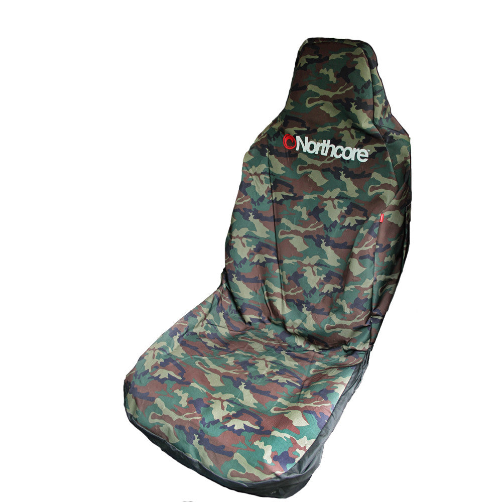 Northcore Northcore Car & Van Seat Cover Single Camo Waterproof - TVSC