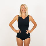 Neon Wetsuits Derwa Swim Suit Black - TVSC