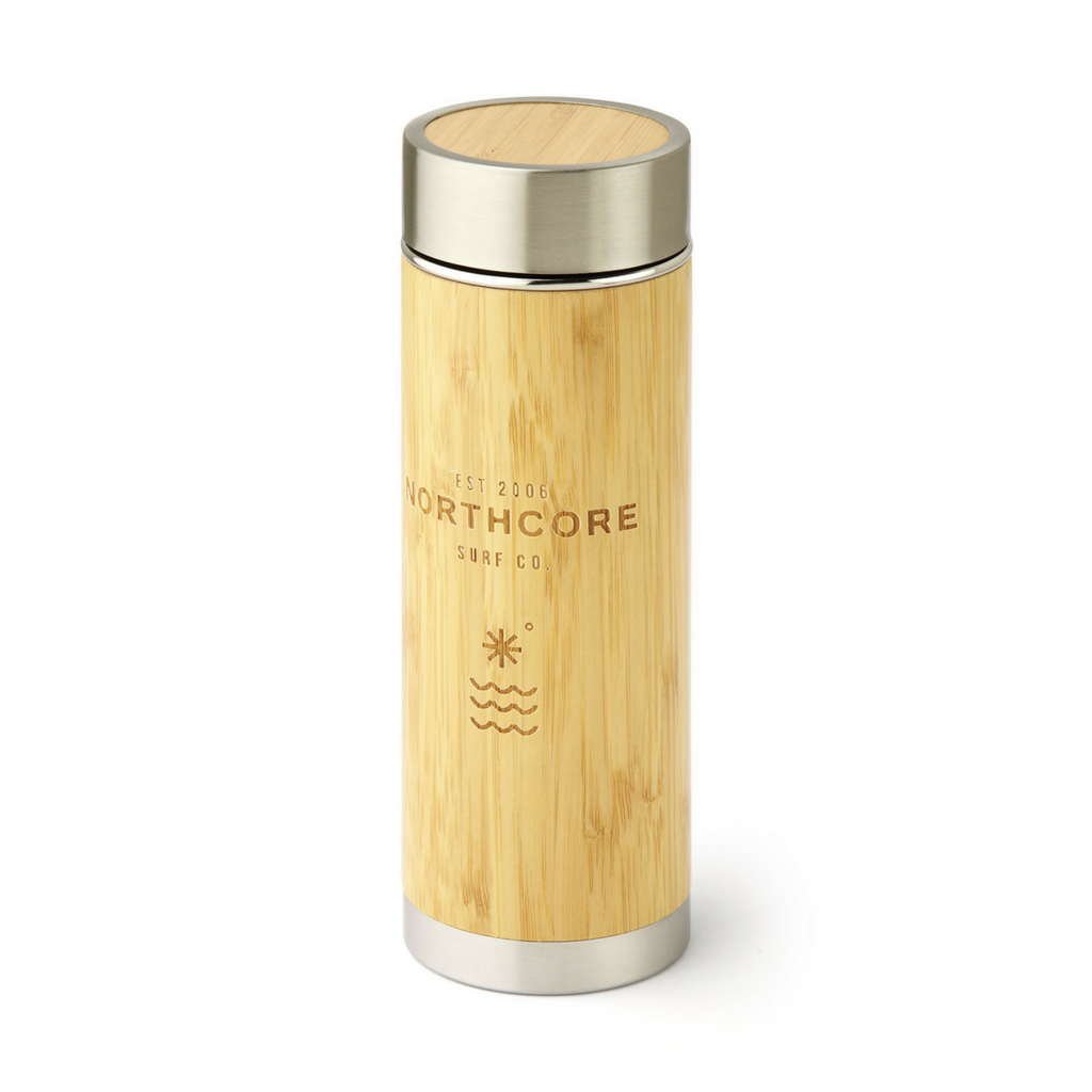 Northcore Northcore Bamboo Stainless Steel Thermos Flask - TVSC