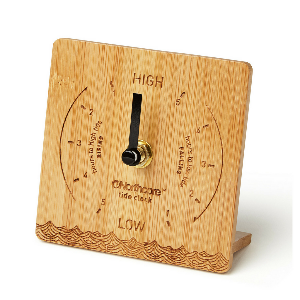 Northcore Northcore Bamboo Tide Clock | Desk Top - TVSC