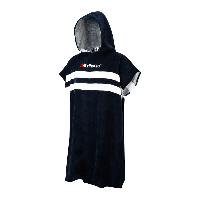 Northcore Northcore Stripey Beach Basha Changing Robe | Blue - TVSC