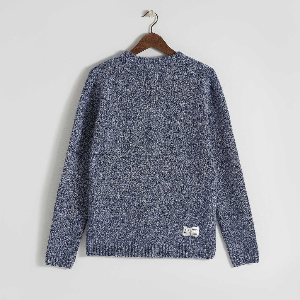 Old Harry Lambswool Air Force Blue - TVSC