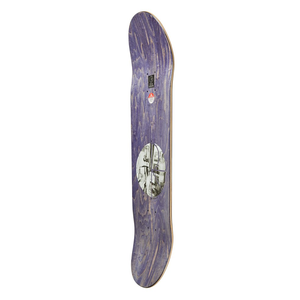 "Polar Skate Co Paul Grund Man Cave Deck | 8.5"" side"
