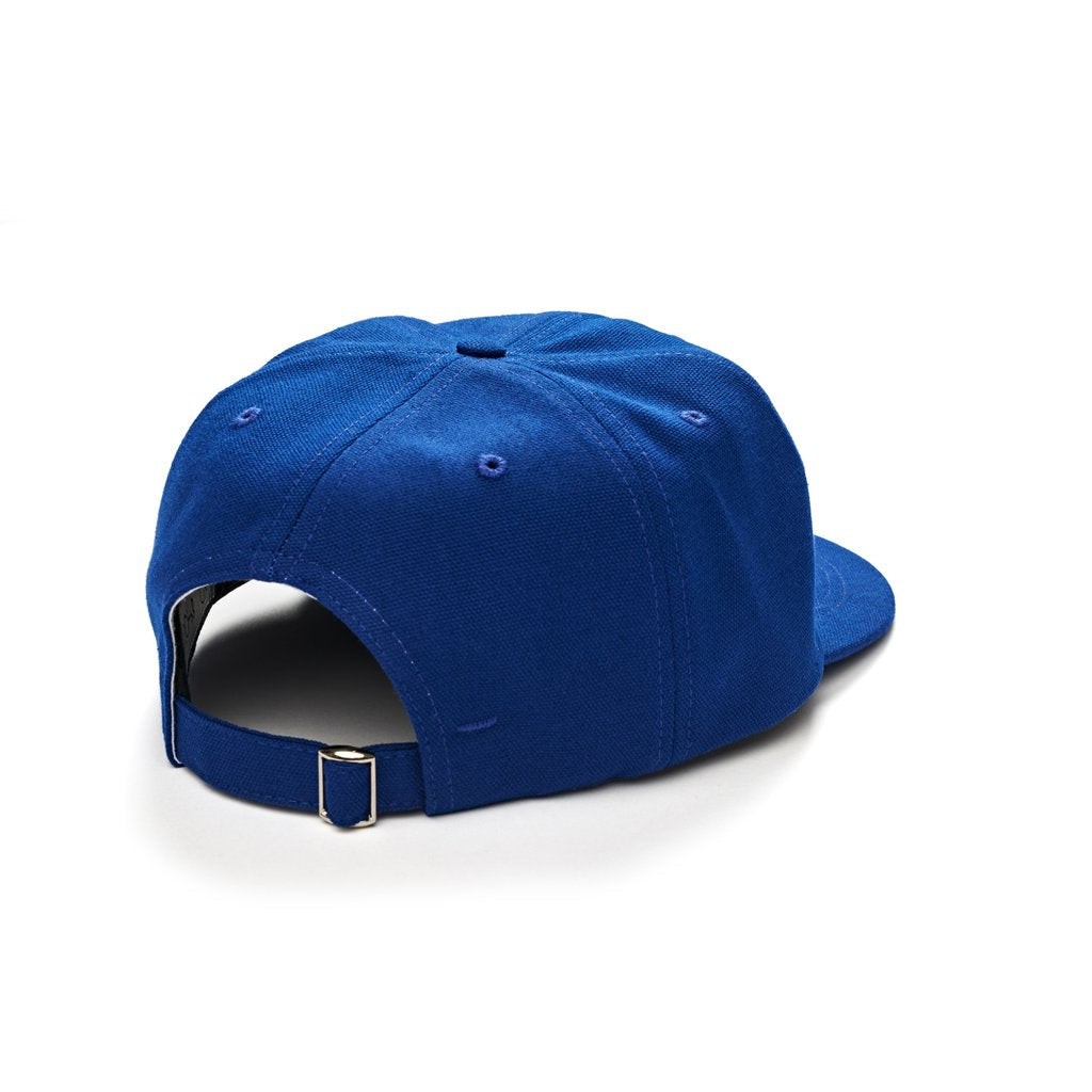 Polar Polar Skate Co Canvas Cap | Royal Blue - TVSC