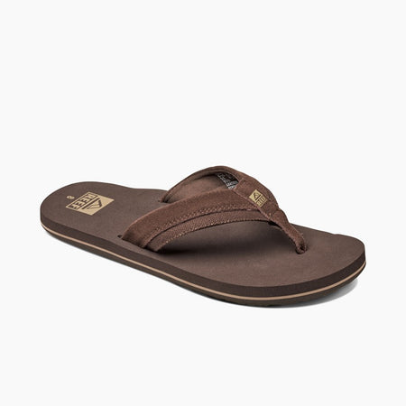 Reef Sandals Stuyak II Flip-Flop | Brown angle