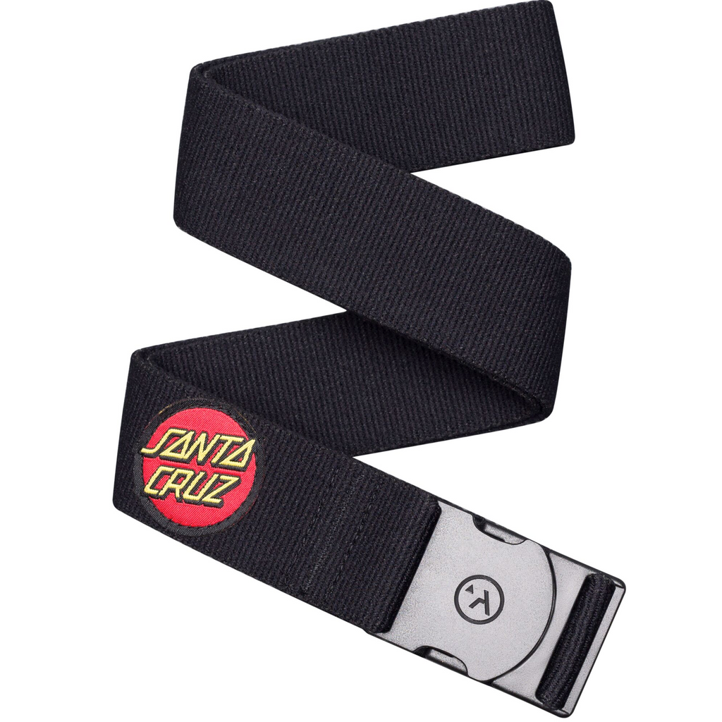 Arcade Belts Arcade Rambler Santa Cruz Belt | Black & SC Dot - TVSC