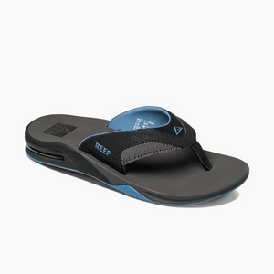 Reef Fanning Flip-Flop | Grey & Light Blue - TVSC