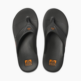Reef One Flip-Flop | Grey & Orange top