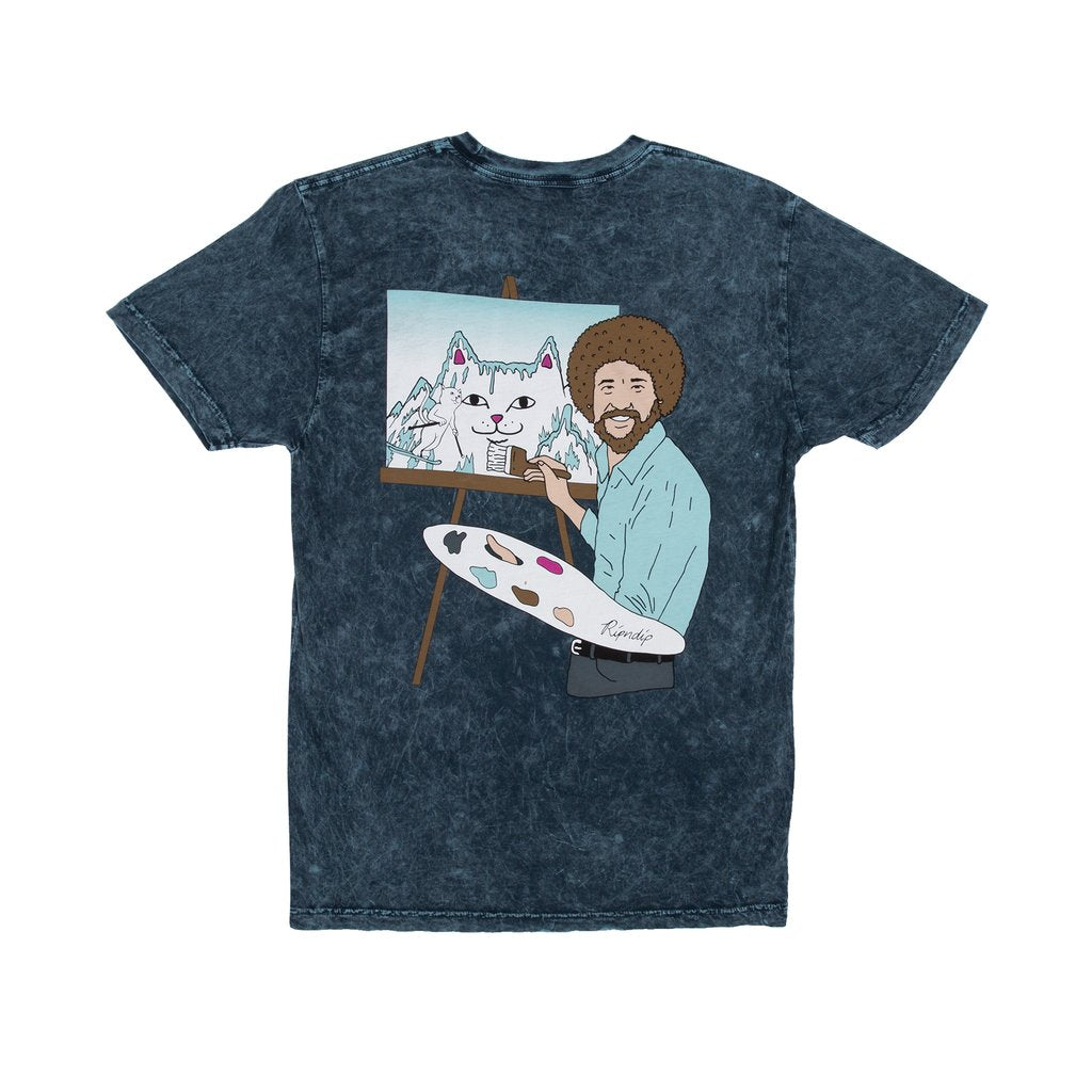 Rip N Dip Beautiful Mountain T-Shirt | Baby Mineral Blue