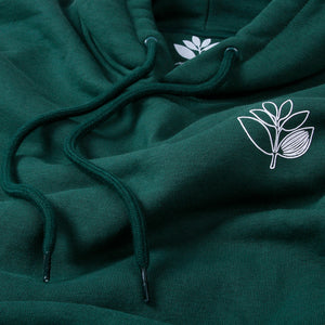 Magenta Magenta Skateboards Outline Hoodie | Green - TVSC