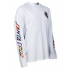 Santa Cruz Screaming Hand Splatter Long Sleeve T-Shirt | White