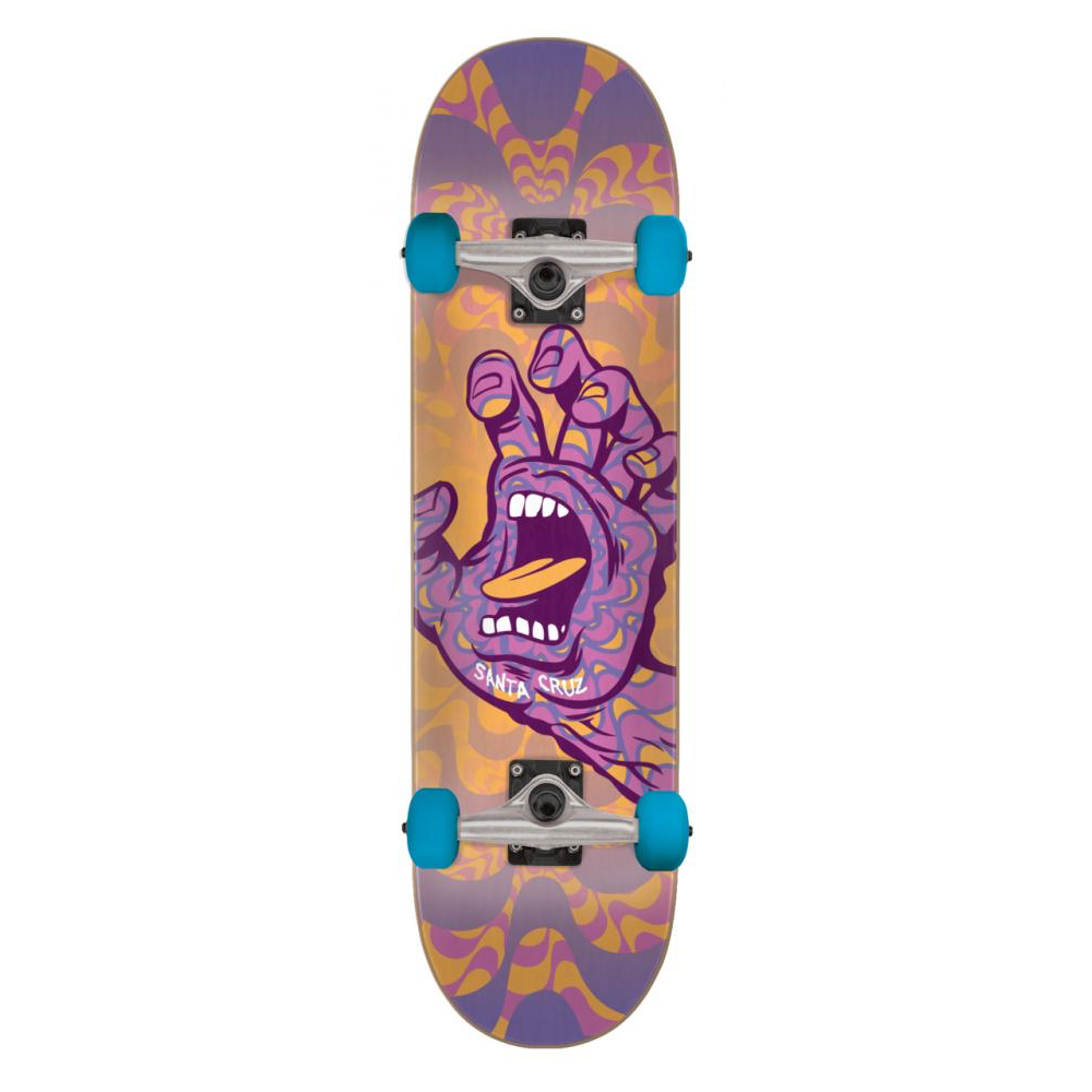 Santa Cruz Kaleidohand Complete Skateboard 8"