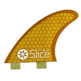 Slice Fins Ultra Light Hex Core S3 Yellow - TVSC