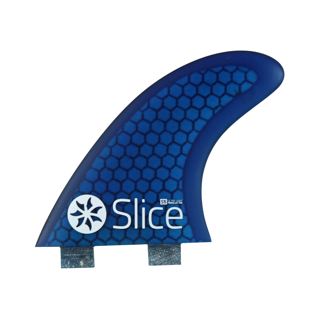 Slice Fins Ultra Light Hex Core S5 Blue - TVSC