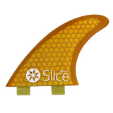 Slice Fins Ultra Light Hex Core S7 Yellow - TVSC