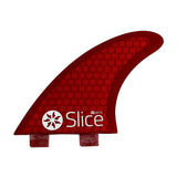 Slice Fins Ultra Light Hex Core S7 Red - TVSC