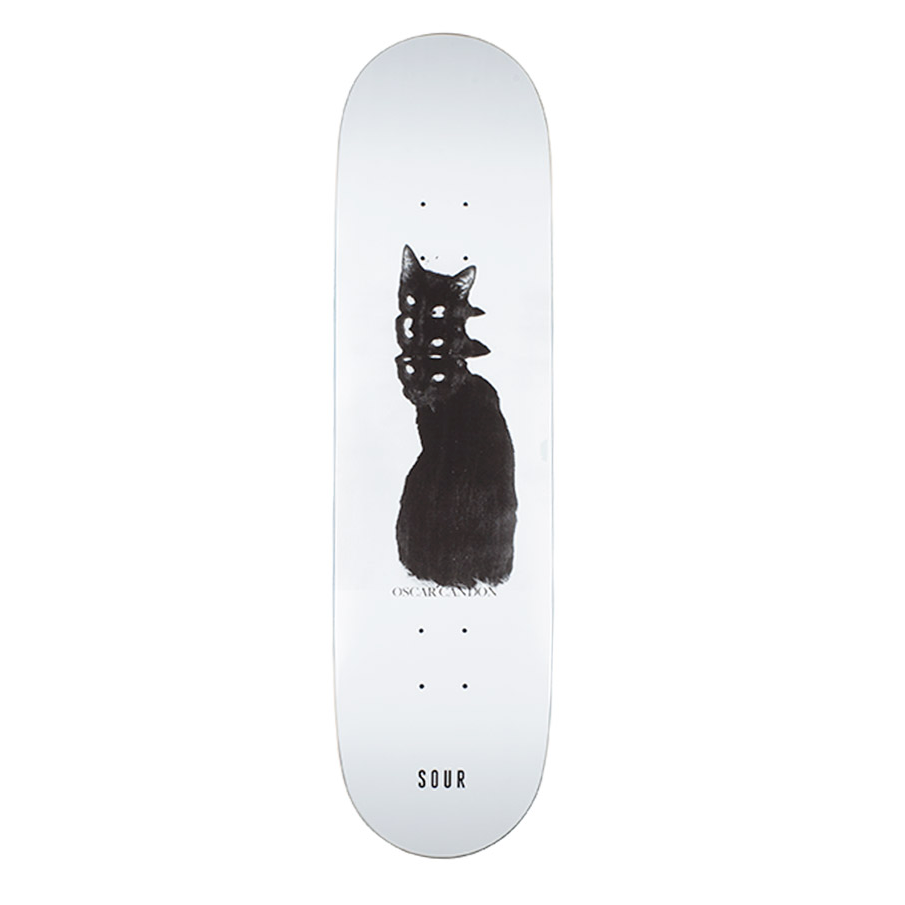"Sour Solution Sour Solution Oscar Bad Cat Skateboard Deck | 8.375"" - TVSC"