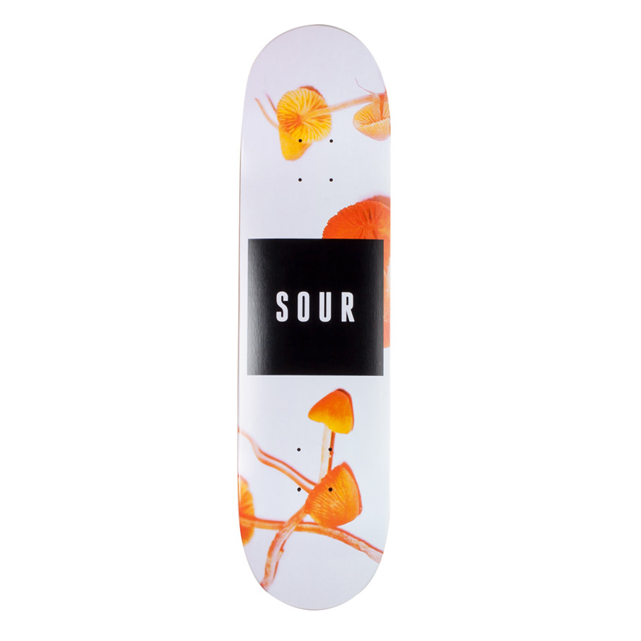 "Sour Solution Sour Solution Shrooms Skateboard Deck | 8.125"" - TVSC"