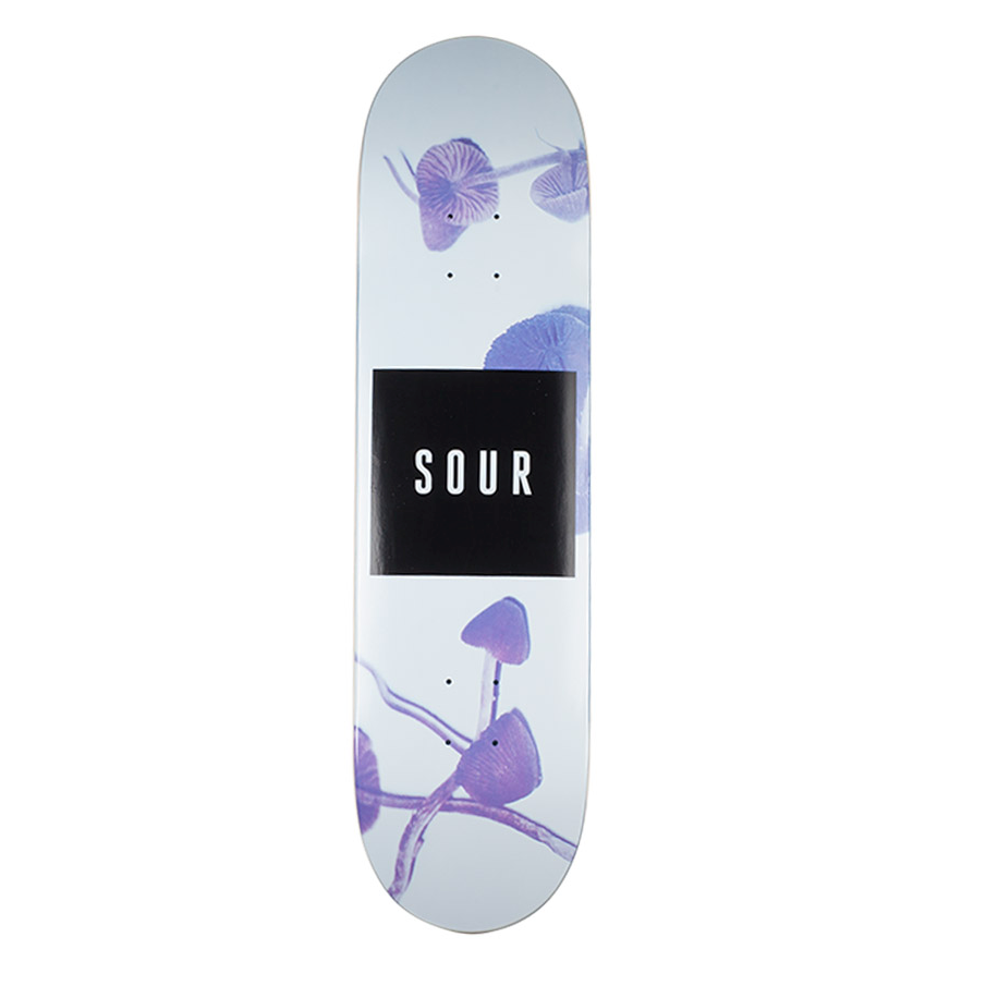 "Sour Solution Sour Solution Shrooms Skateboard Deck | 8.25"" - TVSC"