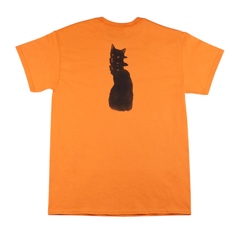 Sour Solution Sour Solution Bad Cat T-Shirt | Orange - TVSC