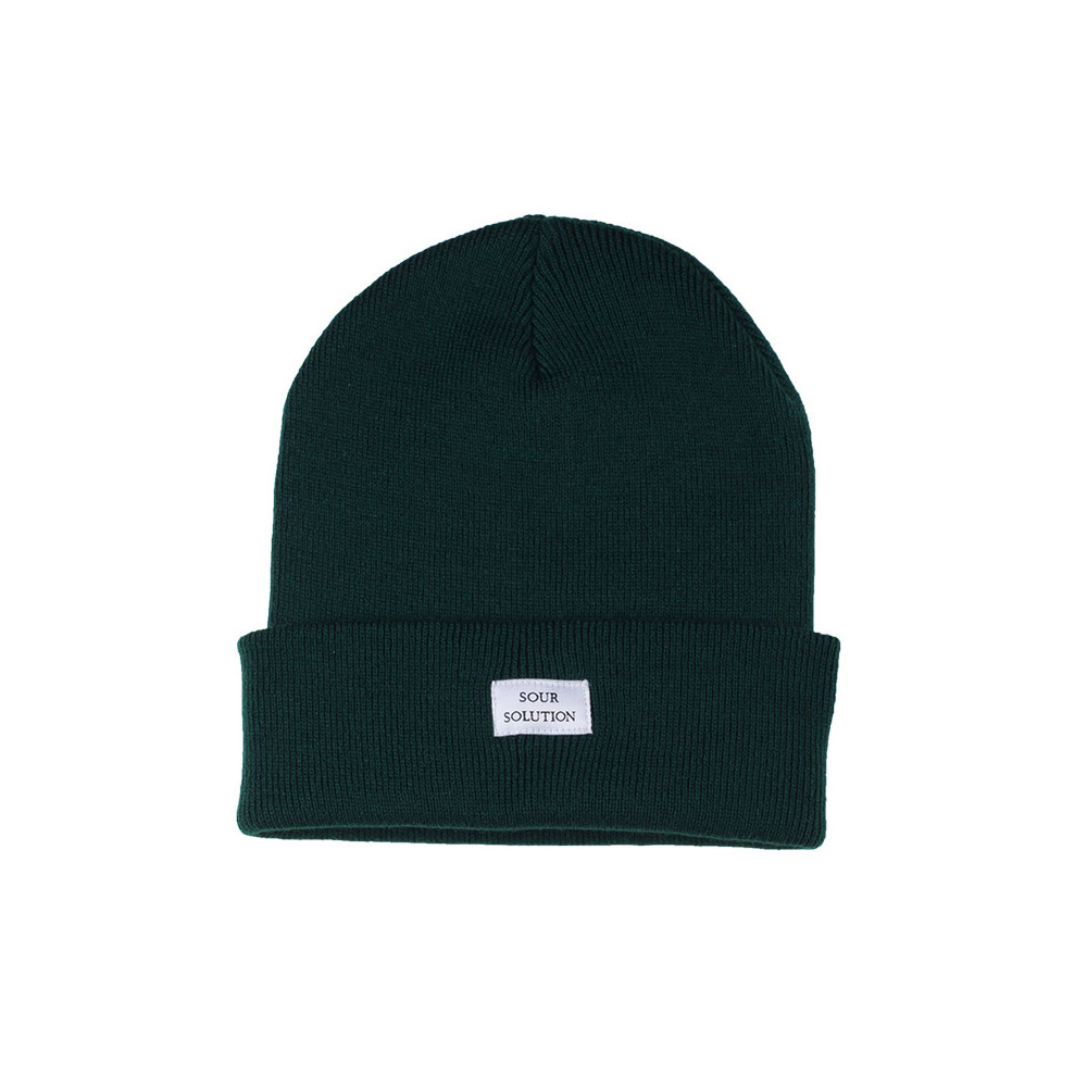 Sour Solution Sour Solution GM Beanie | Bottle Green - TVSC