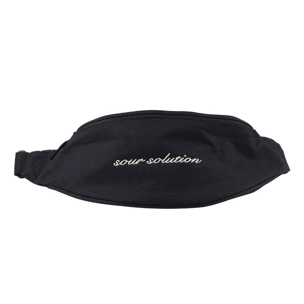 Sour Solution Hipster Bag | Black