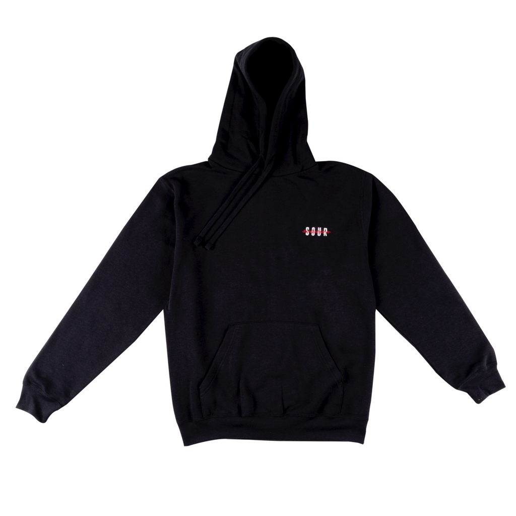 Sour Solution Script Hoodie | Black