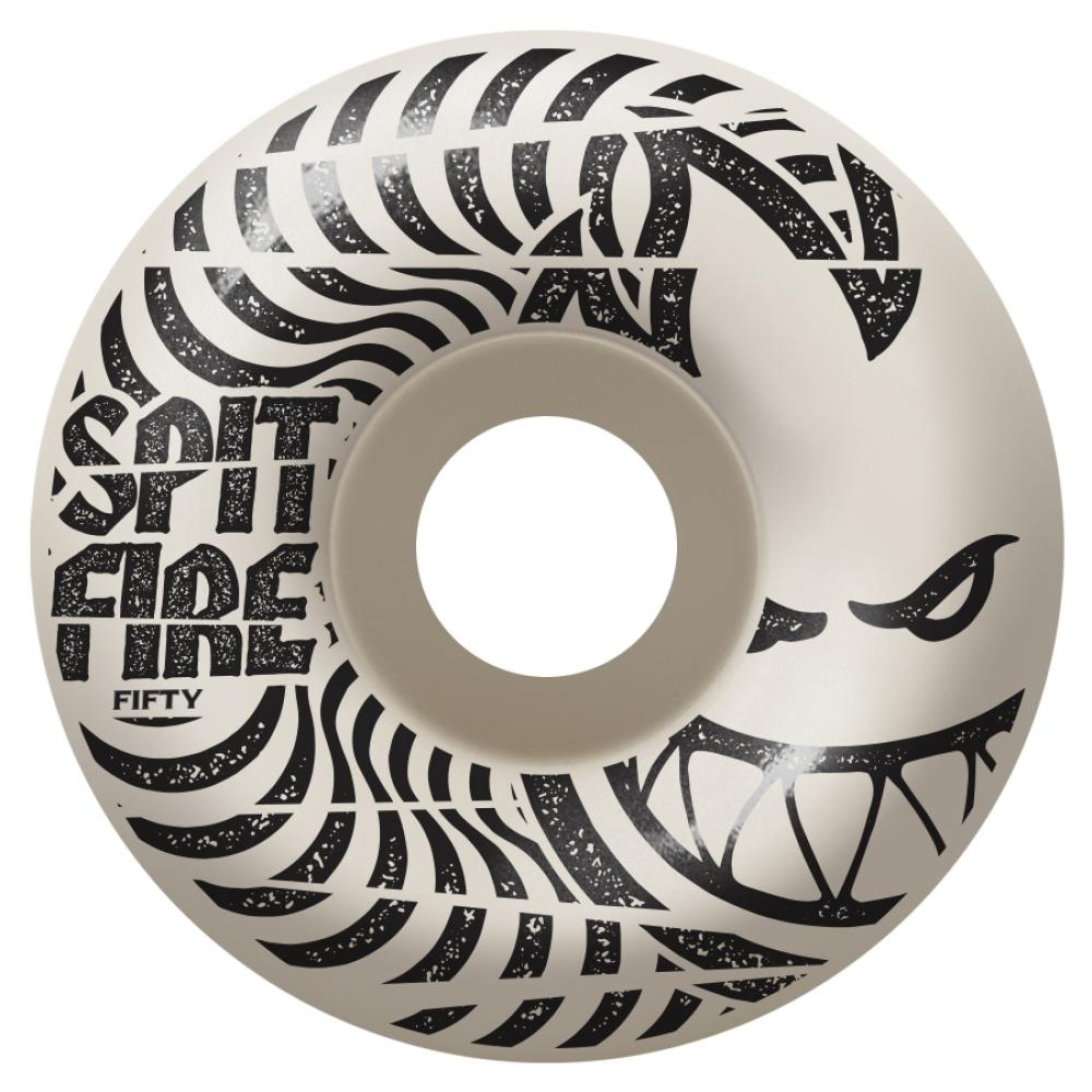 Spitfire Wheels Spitfire Low Downs 99D Skateboard Wheels | White - TVSC