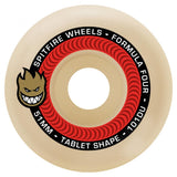 Spitfire Formula Four Tablet Skateboard Wheels 101D Red | 51mm Skate Wheels