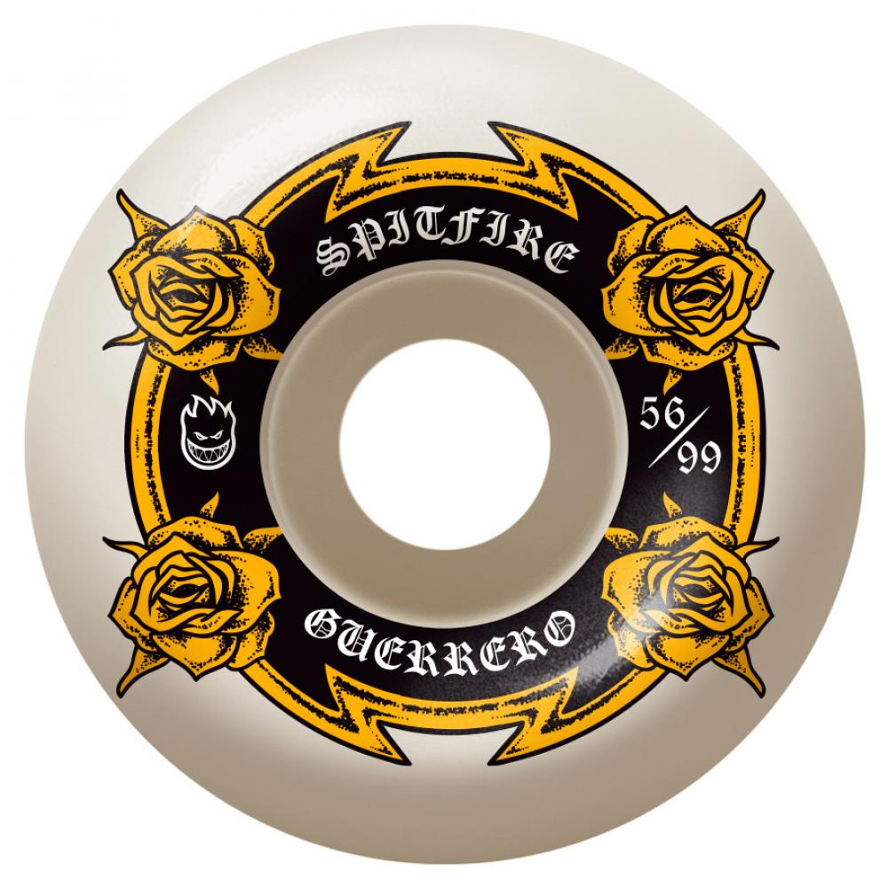 Spitfire Wheels Spitfire Guerrero Lifers Skateboard Wheels 99D | 56MM - TVSC