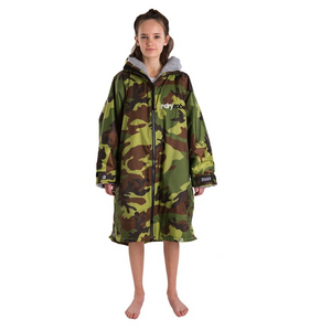 Dryrobe Dryrobe Advance Long Sleeve Changing Robe | Camo & Grey - TVSC
