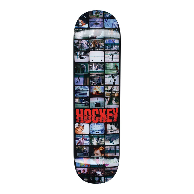 Hockey Screens Skateboard Deck | 8.38