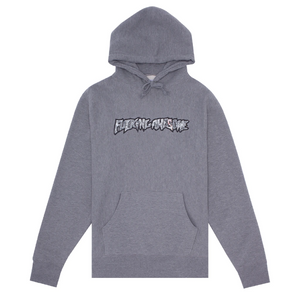 Fucking Awesome Actual Visual Guidance Hoodie | Heather Grey