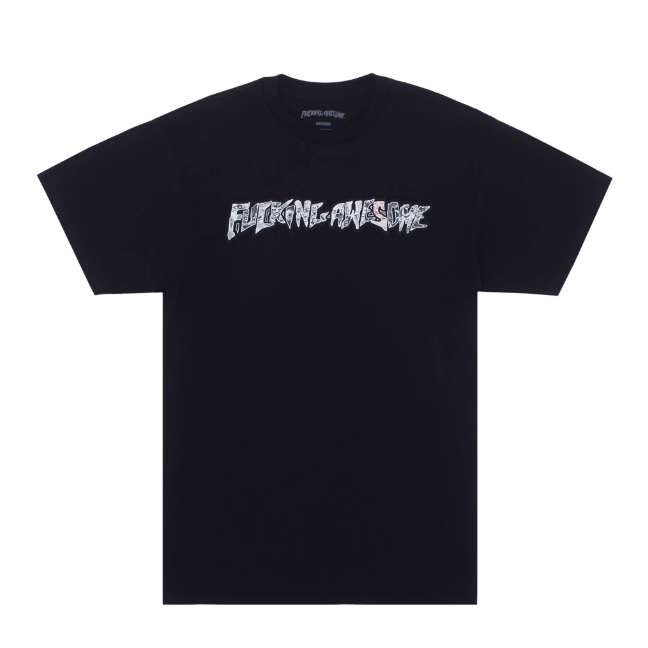 Fucking Awesome Actual Visual Guidance T-Shirt | Black