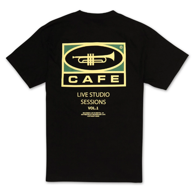 Skateboard Cafe 45 T-Shirt | Black