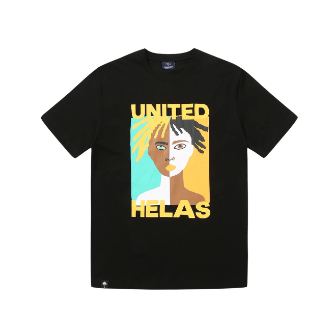 Helas United T-Shirt | Black