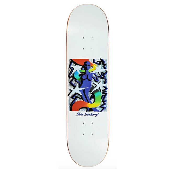 Polar Skate Co Shin Sanbongi Queen Skateboard Deck | 8.25""