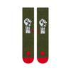 Stance Renegades Socks | Army Green