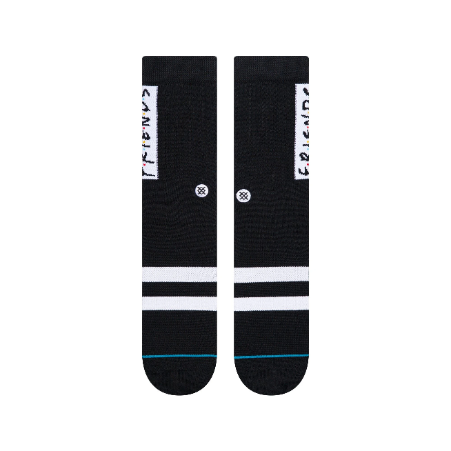Stance The First One Friends Socks | Black