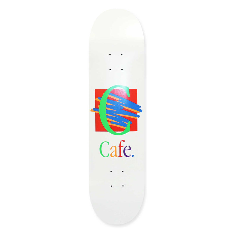 Skateboard Cafe Ronald Skateboard Deck White | 8.5