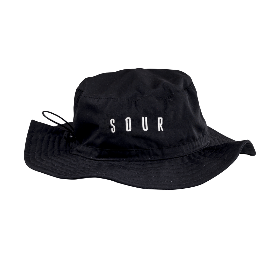 Sour Solution Sour Solution Abbe Hat | Black - TVSC
